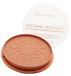 Bronzējošs pulveris Rimmel London Natural SPF15 27, 14 g