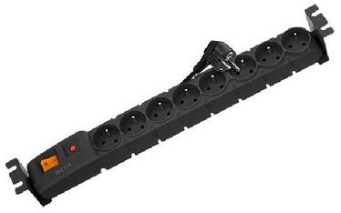 HSK Data Rack Surge Protector 8 Outlet Black 3m