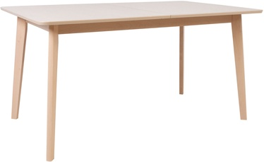 Home4you Adora Table 150/194x80x75 Light Beech