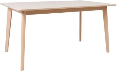 Обеденный стол Home4you Adora 21924, бук, 1500x900x750мм