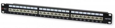Techly Cat. 6a 24 x RJ-45 STP Patch Panel