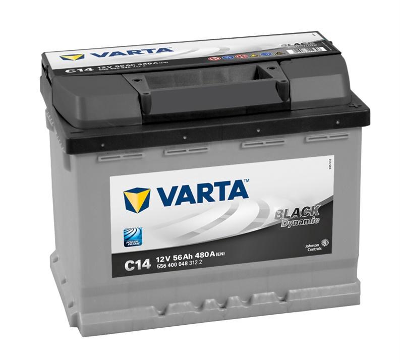 Аккумулятор Varta BD C14, 12 В, 56 Ач, 480 а