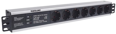 Intellinet Power Strip Rack 19'' 1.5U 250V/16A 7xSchuko 3m