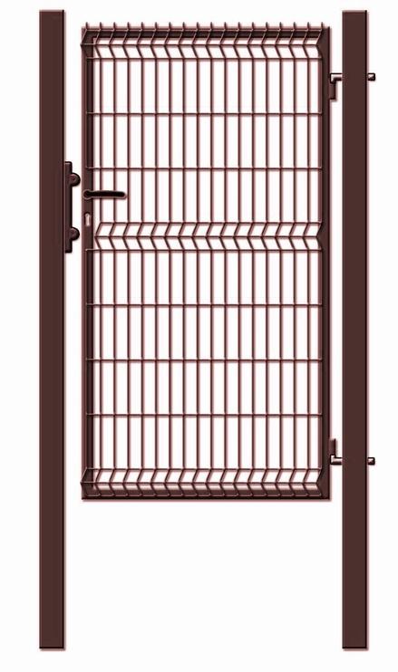 Garden Center Gate 100x173cm Brown Double