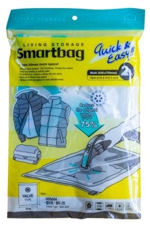 Lock&Lock Vacuum Bag 2PCS Smartbag Multi 55x70cm