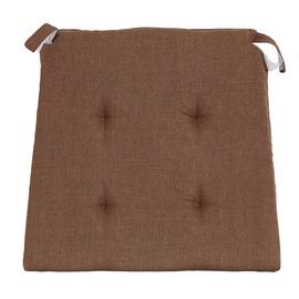 Kėdės pagalvėlė Morbixlex CTRS-317-18, ruda, 40/31 x 38 cm