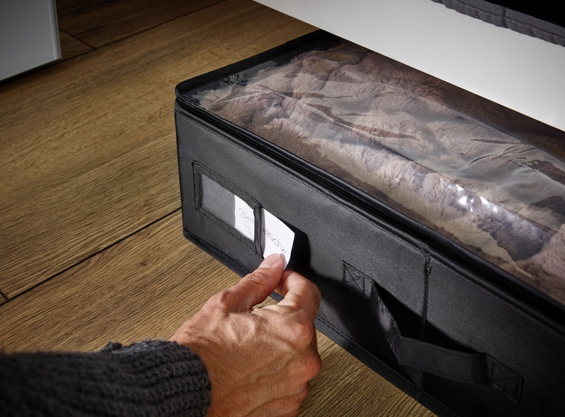 Leifheit Clothes Box Underbed Large 106x46x15cm Black