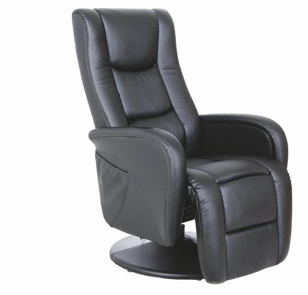 Fotelis Halmar Pulsar Black, 85x68x85 cm