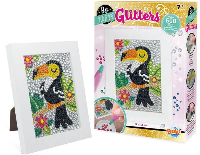 Dekoravimo rinkinys Buki France Be Teens Glitters Toucan DP004