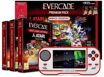 Evercade Retro Games Console Premium Pack