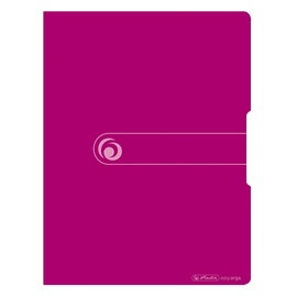 Herlitz Display Book Easy Orga A4/20 Opaque Berry 11226180