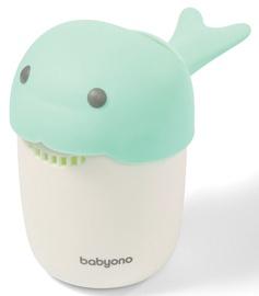 BabyOno Whale Hair Rinse Cup Green