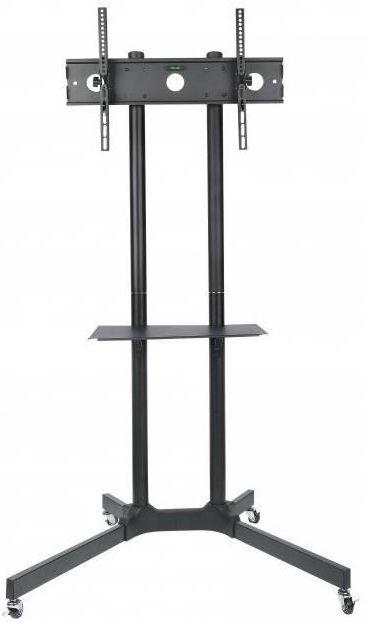 Techly Mobile Stand For TV LCD/LED/Plasma 30''-65'' Black