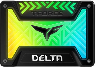 Team Group Delta RGB SSD 250GB Black T253TR250G3C313
