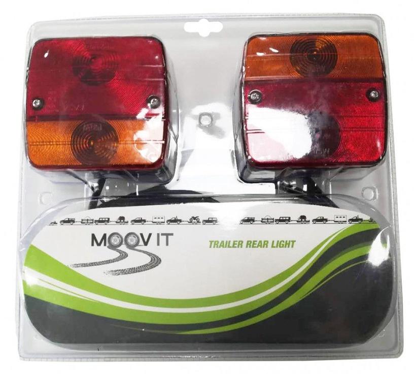 Автомобильная лампочка Moovit 48040, красный/oранжевый