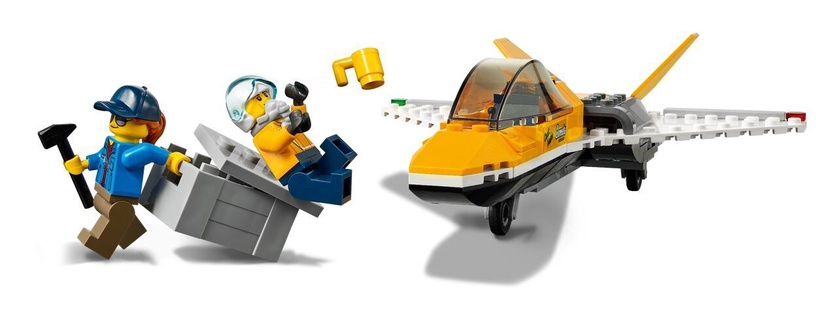 Constructor LEGO City Airshow Jet Transporter 60289