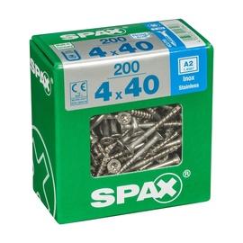 SKRŪVES KOKA A2 4X40 TX 200 GAB (SPAX)