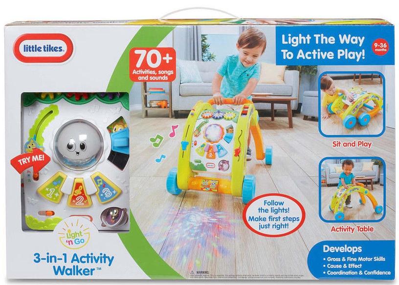 Little Tikes Light 'N Go 3-in-1 Activity Walker