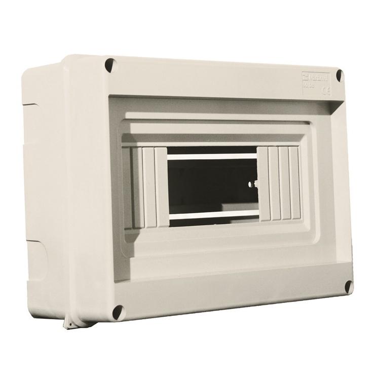 Virštinkinė automatinių jungiklių dėžutė Technova, 8 modulių