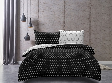 DecoKing Hypnosis Dark Night Bedding Set 200x200/80x80 2pcs