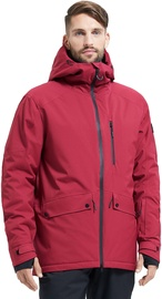 Audimas Mens Ski Jacket Red L