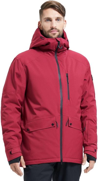 Audimas Mens Ski Jacket Red L