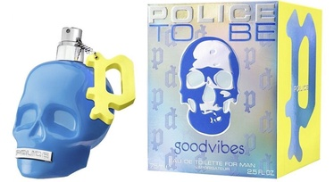 Tualetes ūdens Police To Be GoodVibes EDT, 75 ml