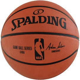 Spalding NBA Game Replica Brown Black 7