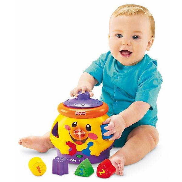 Lavinamasis žaislas Linksmoji puodynė Fisher Price