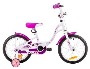 Vaikiškas dviratis Romet Tola 12 White Violet 19