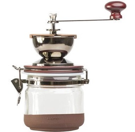 Hario Burr Hand Coffee Grinder Canister Mil Brown