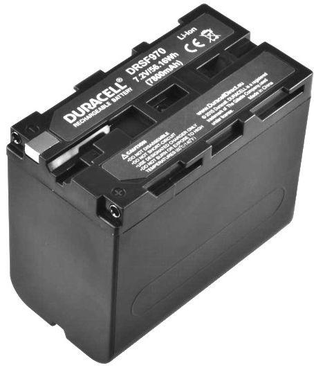 Elementu lādētājs Duracell Premium Battery For Sony Camcorder NP-F930/NP-F950 7800mAh