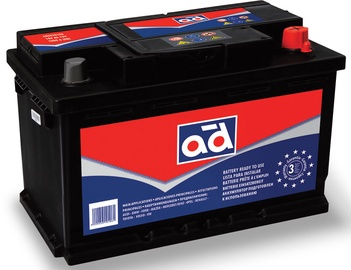 AD Europe 560901068 Starter Battery 60Ah