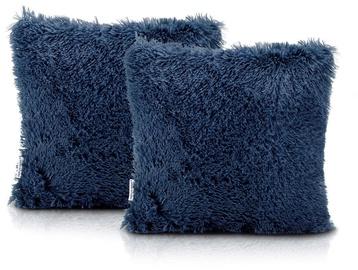 AmeliaHome Karvag Pillowcase 45x45 Dark Blue 2pcs