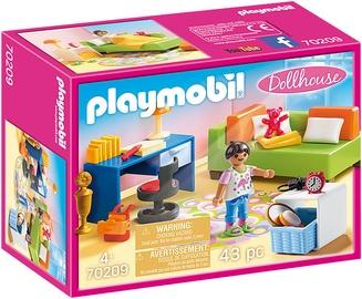 Playmobil Dollhouse Teenagers Room 70209