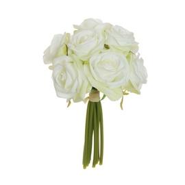 Dirbtinių rožių puokštė, 25 cm