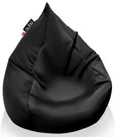 Кресло-мешок Qubo Splash Drop Graphite Pop Fit, черный, 220 л