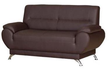 Bodzio Livonia Sofa Eco Leather Dark Brown