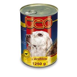 Suņu barība Teo ar vistas gaļu 1250g