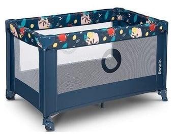 Детская кроватка Lionelo Stefi Blue Navy