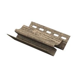 Plastikinė vidinio kampo juostelė lauko dailylentėms Timber