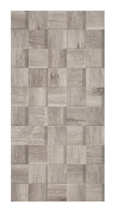 Akmens masės dek. plytelės DECORWOOD GREY, 59.8 x 29.7 cm