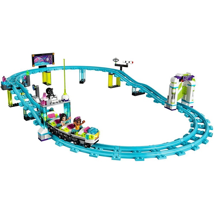 Konstruktors Lego Friends Amusement Park Roller Coaster 41130