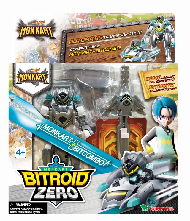 Young Toys Monkart Bitroid Zero