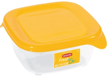 Curver Food Container Square 0,25L Fresh&Go Yellow