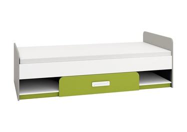 Vaikiška lova ML Meble IQ 12 Green, 203x94 cm