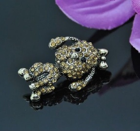 Vincento Brooch With Zirconium Crystal LD-1261