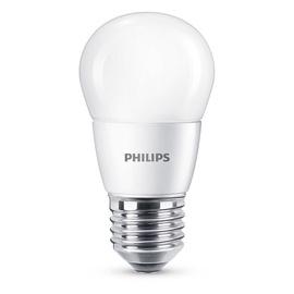 LED lempa Philips P48, 7W, E27, 2700K, 806lm