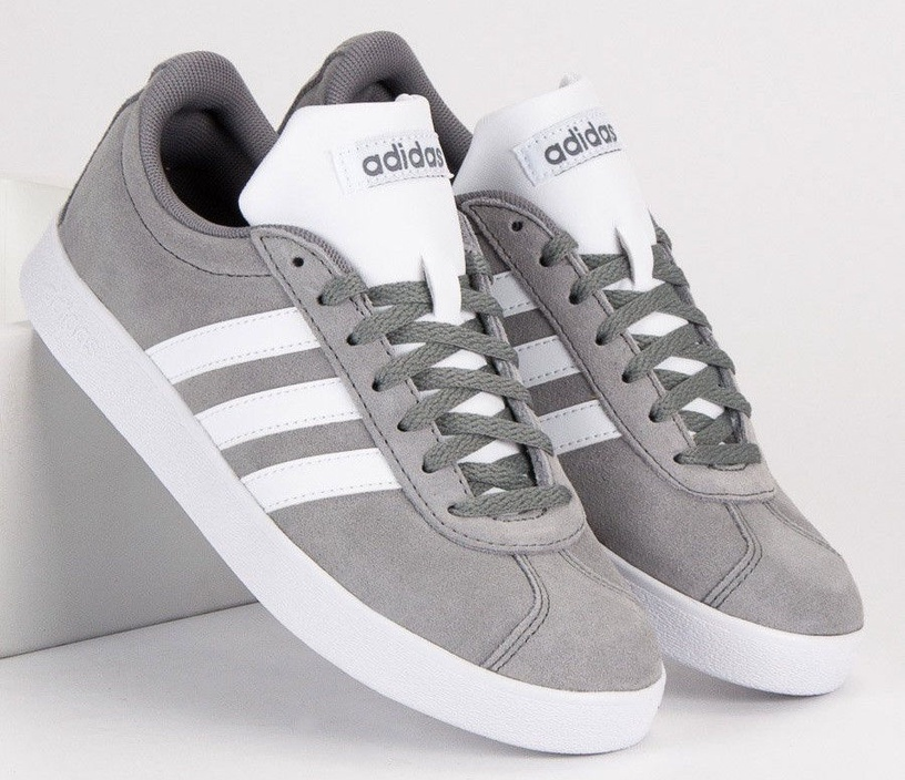 Adidas Inspired VL Court 2.0 Shoes Grey 44.5