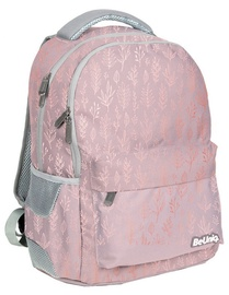 Paso BeUniq Boho School Backpack w/ Pencil Case & A5 Notebook Pink